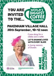 20170930 - The World's Biggest Coffee Morning