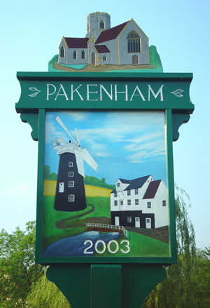 New Pakenham Village Sign